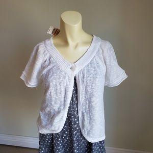 🔔NWT💥STYLE&CO Sweater Vest Women's size Petite S